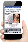 Digital Service Dog ID