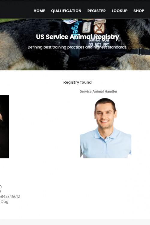 Best way to register service animal?