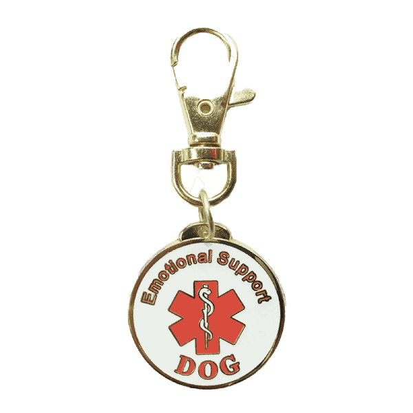 Emotional Support Animal Keychain