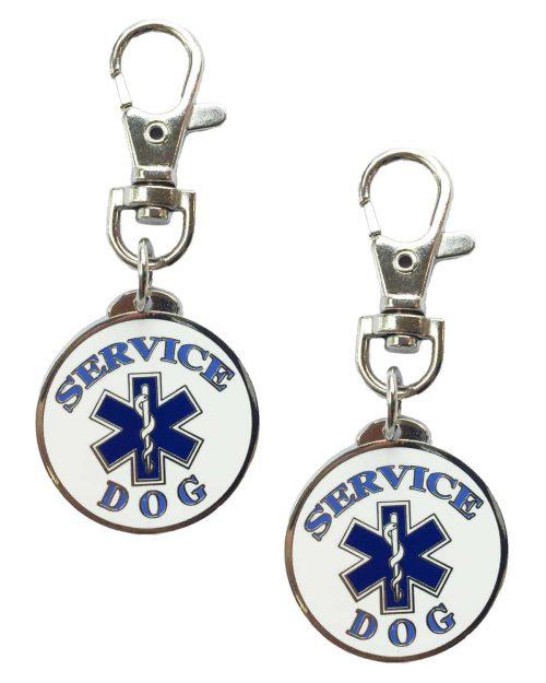 Service Dog Keychain