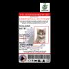Emotional Support Feline ID Badge
