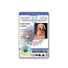 Service Dog Holo Seal ID Badge