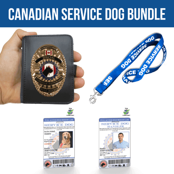Canadian Service Dog Bundle