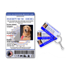 Service Dog With Key Tag